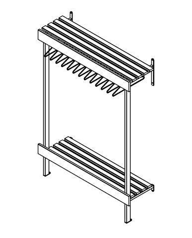 WFH Series Coat Hanger Unit
