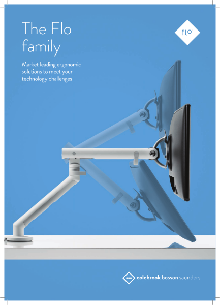 Flo Monitor Arm - Brochure