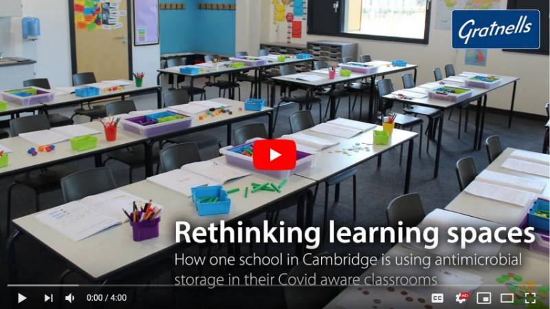 Rethinking learning spaces - Covid aware learning at Trumpington Park Primary School