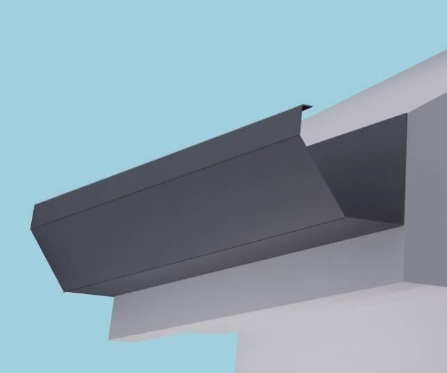 Dales Torent 2 Gutter Aluminium Gutter