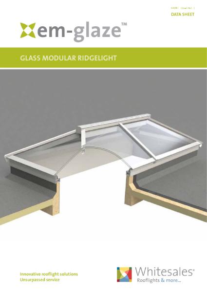 Em-Glaze Modular Ridgelights Datasheet