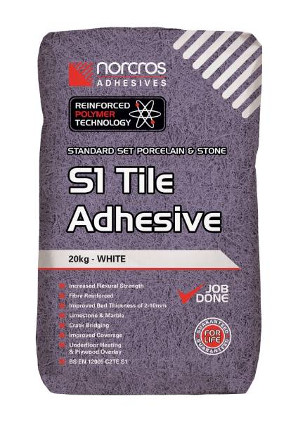 Standard Set Flexible White S1 Tile Adhesive