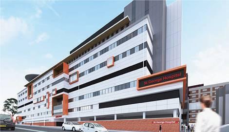 St George Hospital, Kogarah, Sydney, NSW