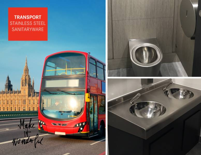 Franke chosen for major transport washroom renovation