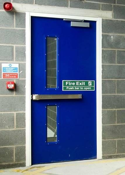 Steel Doors AD10 Armourdoor Fire Exit - Single