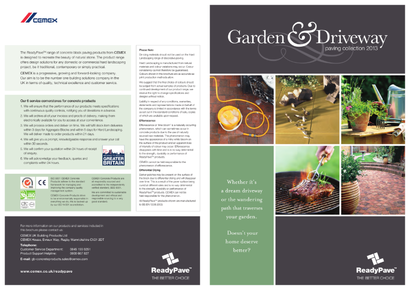 The Garden & Driveway Paving Collection - ReadyPave
