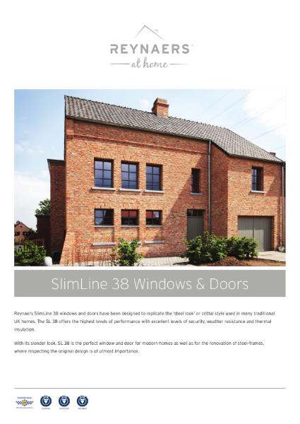Aluminium Window for Domestic Market - SL 38