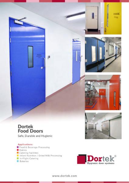 9.8. Dortek Food Doors Brochure