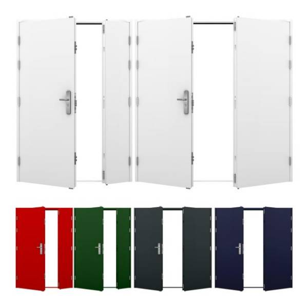 Double Steel Door (Security)