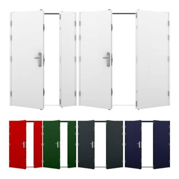 Double Steel Door (Security)