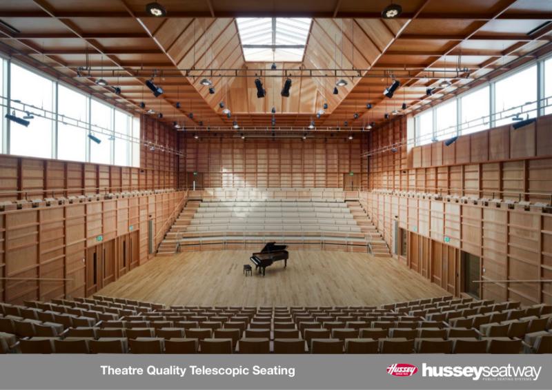 Theatre Quality Telescopic Seating