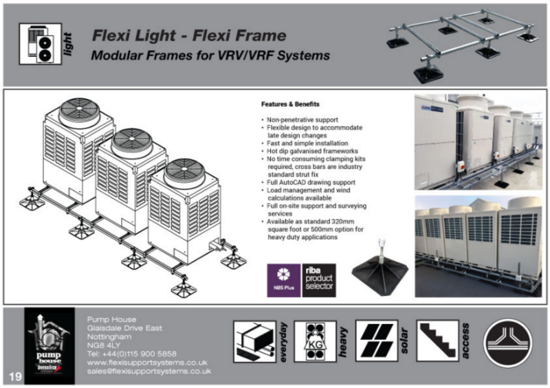 Flexi Light - Flexi Frames (Base & Extender Frames for VRV/VRF Condensers).
