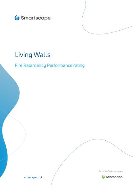 Living Wall Fire Retardancy Document