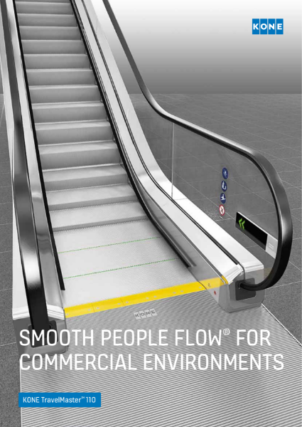 KONE TravelMaster 110 escalators