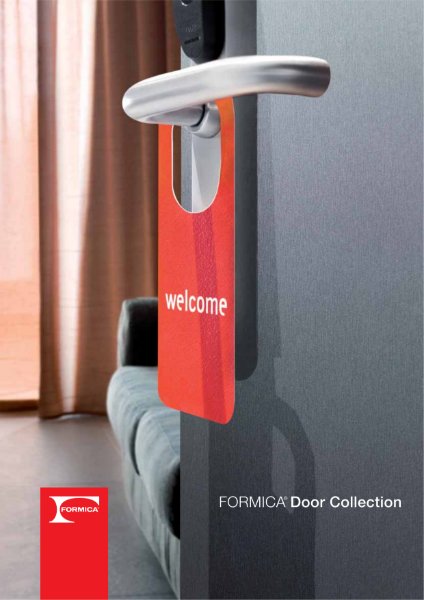 Formica® Collection Doors - High Pressure Laminate by Formica Group
