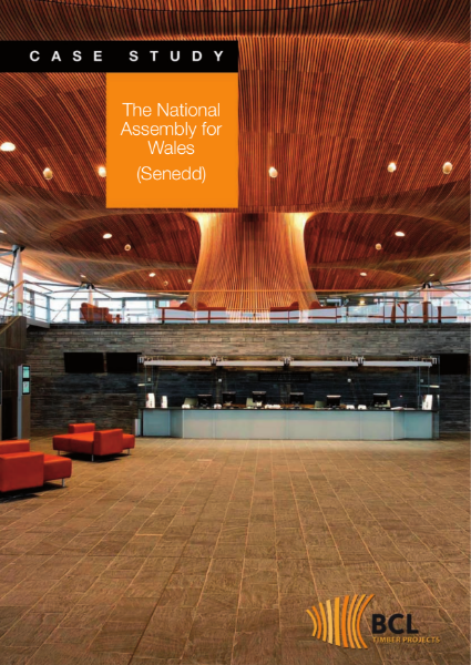 National Assembly Wales - BCL Acoustic Timber Ceilings