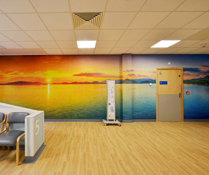 Bespoke wall protection at the Royal Bournemouth Hospital