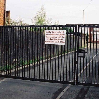 Manual Vehicle Gates