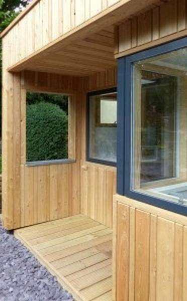 Siberian Larch Profiled External Cladding