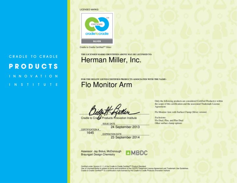 Flo - Cradle to Cradle Certification