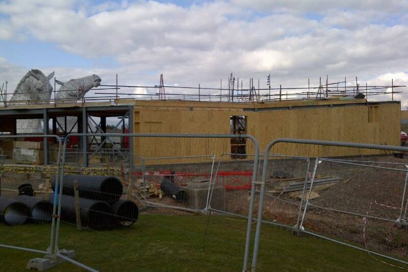 Norbord helps The Kelpies