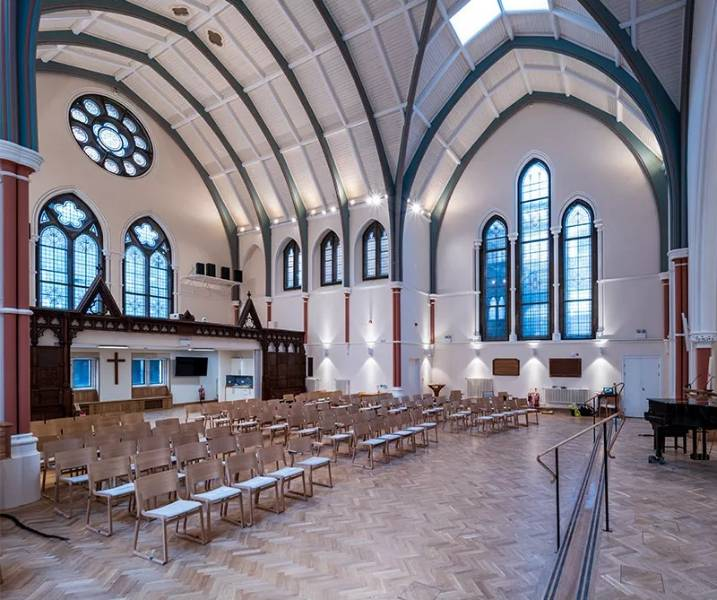 Newly renovated Cambridge Church blessed with warmth from secondary glazing installation