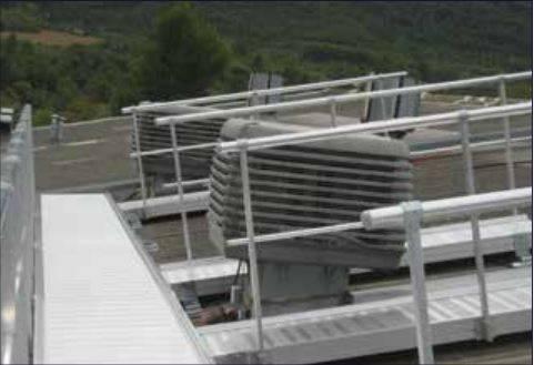 VECTAWAY Aluminum Roof Walkway
