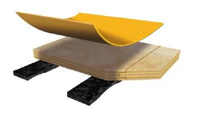 Taraflex® Area Elastic Low Profile System