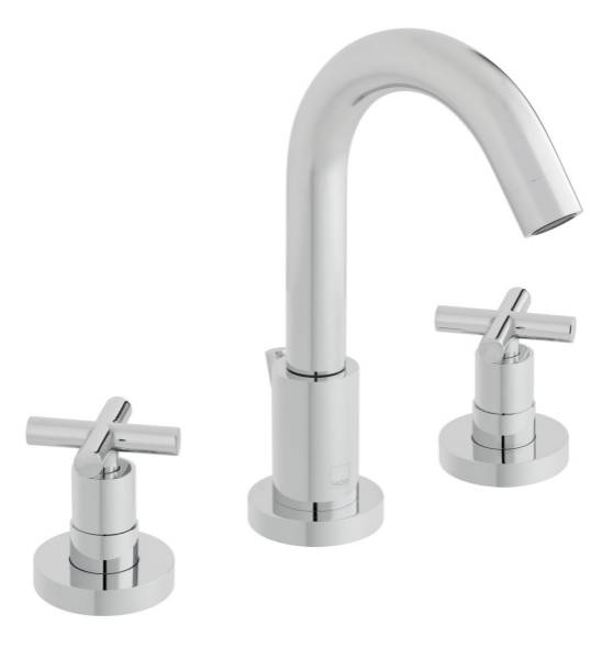 Elements 3 Hole Basin Mixer Tap