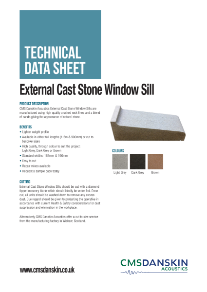 External Cast Stone Window Sill