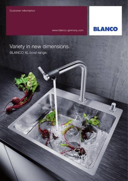 BLANCO XL Bowl Sink Range