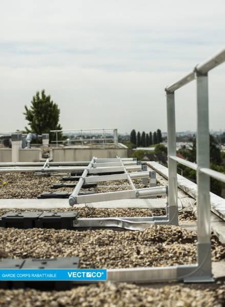 Select Access® Freestanding Guardrail - Folding