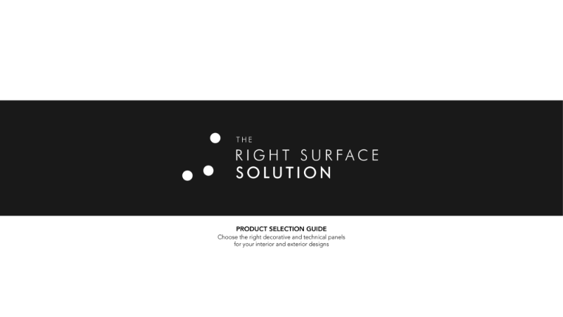 The Right Surface Solution