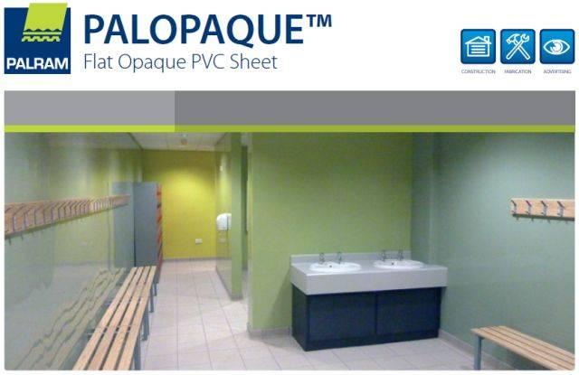 PALOPAQUE™ PVC internal Cladding System