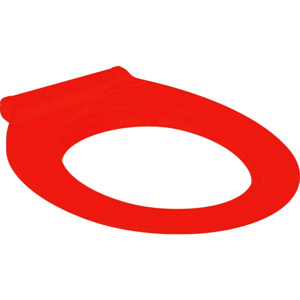 Selnova Comfort WC seat ring, barrier-free, fastening from above