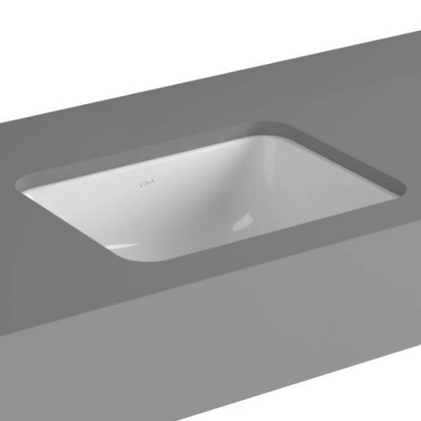 VitrA S20 Undercounter Basin, 38 cm, Square, 5473