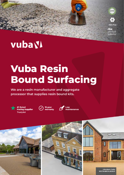 Vuba Resin Bound Surfacing Catalogue 2021