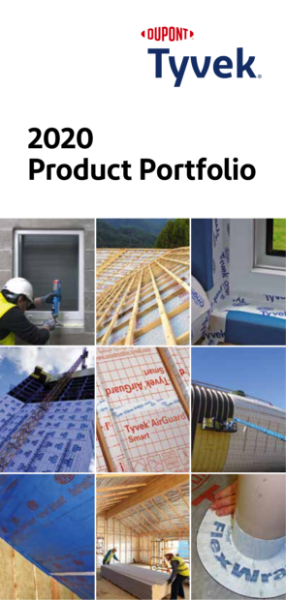 Tyvek & AirGuard Product Range 2021