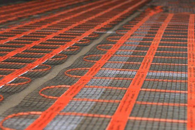Underfloor Heating Mat Systems