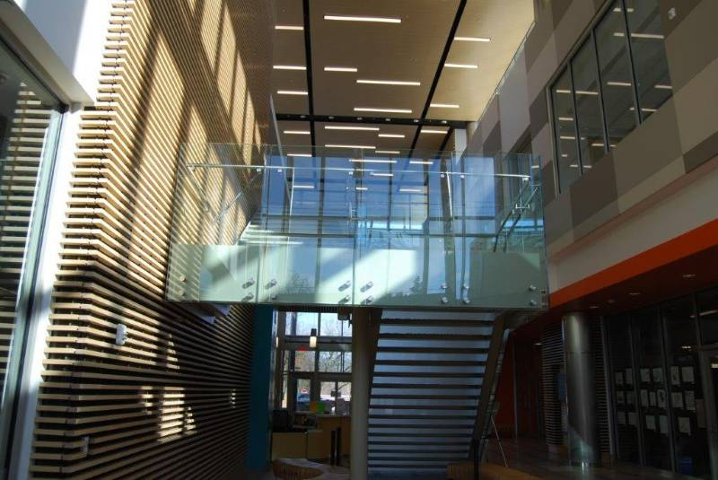 Optik POD™ Stainless Steel and Glass Railing System