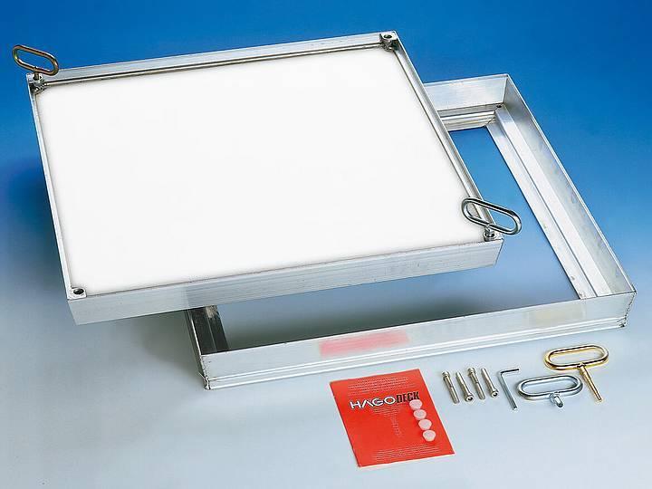 Lightweight Internal Floor Door - Composite - Lift Out or Hinged