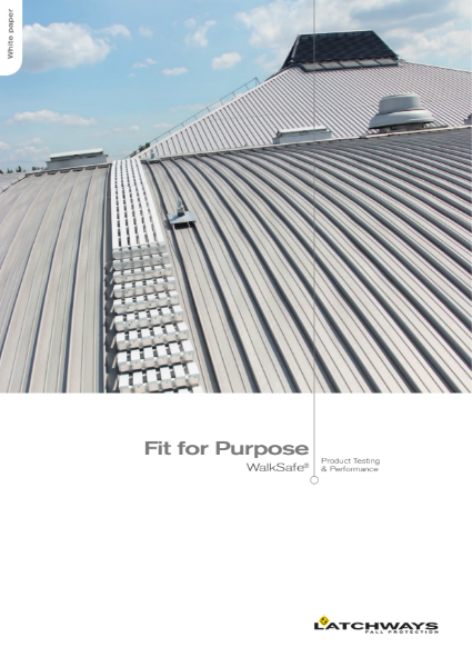 Fit for Purpose: WalkSafe