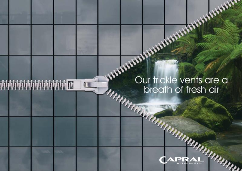 Capral Aluminium Trickle Vents