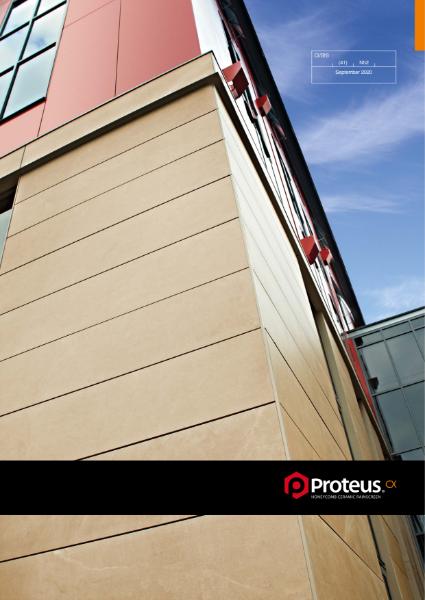 Proteus CX Rainscreen Brochure