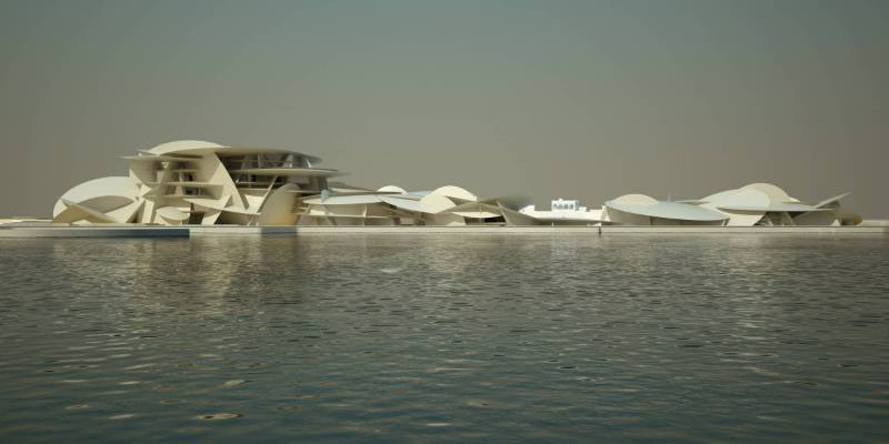 National Museum of Qatar - total flexibility, versatility and sustainability