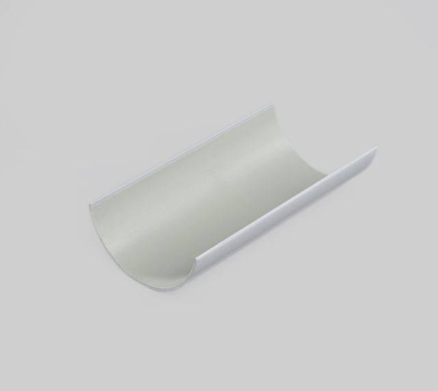Clip-master PVC-U half round gutter