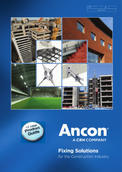 Ancon Fixing Solutions for the Construction Industry