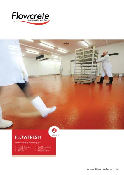 Antimicrobial Flowfresh Flooring