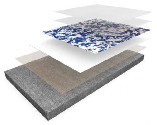 Resin flooring system Elladur™ Deco Flake Screed
