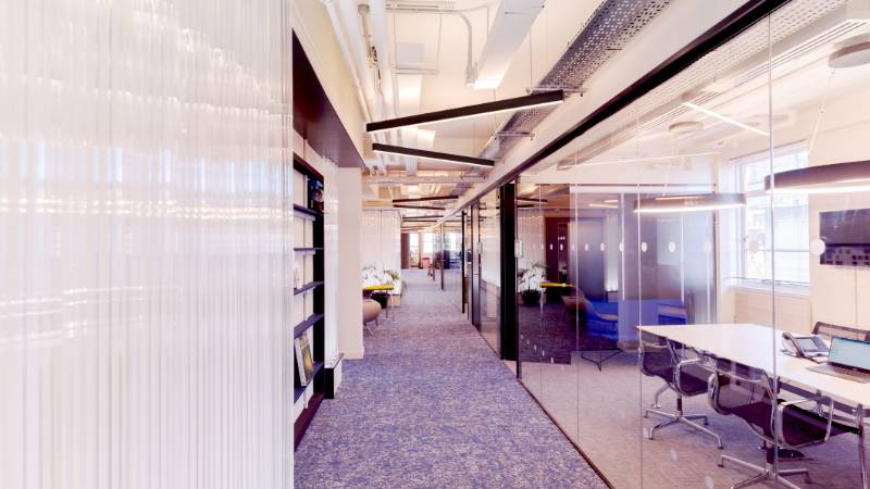 Tenant Focused Office Fitout. 78 Whitfield Street, London.